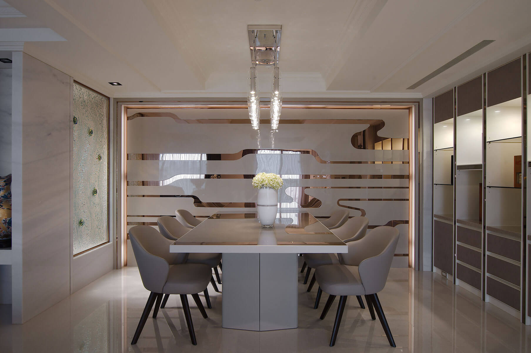 Contemporary live inside an interior designers house a refined modern minimalist home